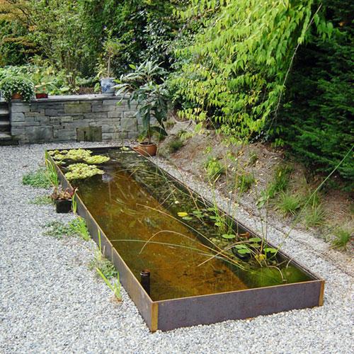 Gartengestaltung schlosserei metallbau daniel b umlin gmbh - Kindersicherung gartenteich ...